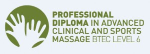 Professional Diploma in Clinical and Sports Massage BTEC Level  6 logo